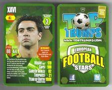 TOP TRUMPS European Football Stars card 2012-13 – VARIOUS