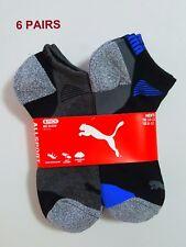 6 X Pair PUMA Men's low Cut Sport Sock New Shoe Size 12-16