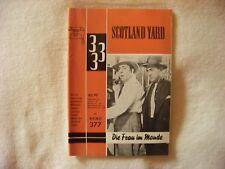 Scotland Yard-la donna in monde Roman QUADERNO