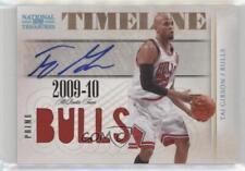 2009 Playoff National Treasures #7 Taj Gibson Chicago Bulls Auto Basketball Card