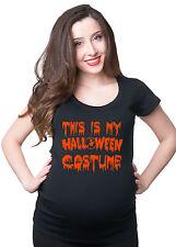Funny Halloween pregnancy maternity T-shirt Halloween Costume T-shirt