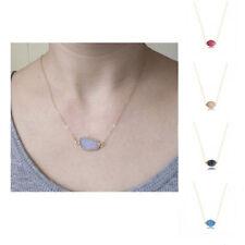 Natural Healing Reiki Pendant Necklace Druzy Quartz Clusters Geode Stone Gem