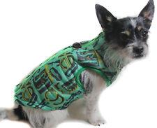 Hundejacke Hund Mantel XS S M L Weste grün Neu Winter warm