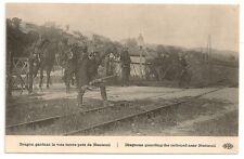 Carte postale ancienne Grande Guerre soldat militaire Dragons régiment NANTEUIL