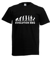 Herren T-Shirt Evolution BBQ I Sprüche I Lustig I Fun I  bis 5XL