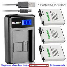 EN-EL12 Battery or LCD Slim Charger for Nikon KeyMission 170, KeyMission 360
