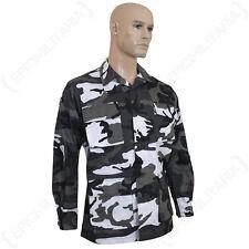 US BDU Field Jacket - Urban Camo All Sizes  Army Battle Dress Uniform Cotton Top