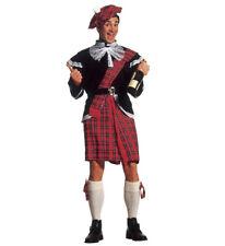 Costume Carnevale Uomo Kilt  travestimento Scozzese PS 22826