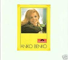 AUTOGRAMMKARTE - Aniko Benkö