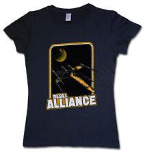 REBEL ALLIANCE WOMAN GIRL T-SHIRT - X Red Star Empire Five Wars Wing Skywalker