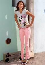 "Hüft-Jeans rosa Kurz-Gr. 20, 21 (40, 42) ""AJC"" NEU"