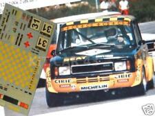 DECAL CALCA 1/43 SEAT 124 Gr.2 S. CAÑELLAS CTO. ESPAÑA VELOCIDAD JARAMA 1979