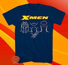 New Marvel Comics X-Men Magneto Wolverine Cyclops Mens Vintage T-Shirt