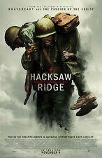 HACKSAW RIDGE MOVIE POSTER - DIFFERENT SIZES - FREE UK POSTAGE - (3) WAR