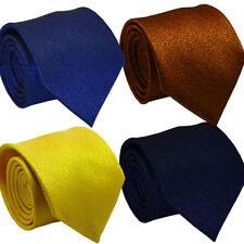 Glitter Design Wedding Party Fashion Men Necktie Cufflinks Handkerchief Tie Set