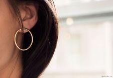 Lady Fashion Simple Ring Circle Earrings Circle Stud  Punk Chic Geometric Design