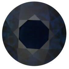 Natural Fine Deep Midnight Blue Sapphire - Round - Thailand - Select Grade