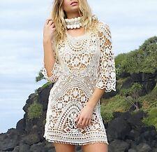 Vestito Mini Copricostume Schiena Nuda Donna Woman Mini Cover up Dress COV0031 P