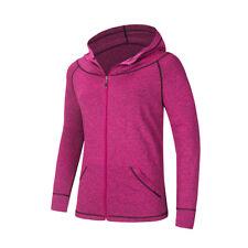 Women Hoodie Full-Zip Size M to XXL Track & Active GYM Cycling Sport Sweatshirts
