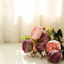 14 Silk Peony Flowers Wedding Party Centerpieces Home Arrangements Bouquets