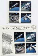 US Scott #C122-25 Block of 4 & C126 Universal Postal Congress SS MNH**FREE SHIP*