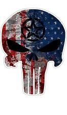 American Flag Army Star Punisher Vinyl Sticker Decal Car Truck Laptop Window