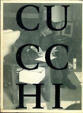 """CUCCHI Enzo - Enzo Cucchi. """"La Disegna"""". Zeichnungen 1975 bis 1988"""