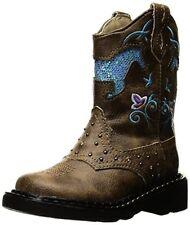 Roper Girls Horse Flowers Western Boot- Pick SZ/Color.