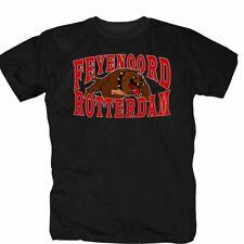 Rotterdam Feyenoord Niederlande Hooligans Ultras Bulldog T-Shirt S-3XL schwarz