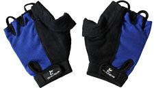 GIMER blue cycling gloves guanti ciclismo spugna olimpico blu cod. 7/212