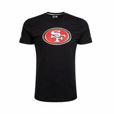 Nueva Era San Francisco 49ers Logo Del Equipo NFL Camiseta [Negro]