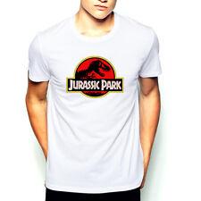 Giurassico Park Classic Logo T-Shirt - Movie shirt Film Cinema Fruit of the Loom