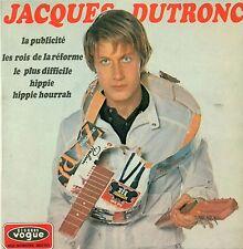 """JACQUES DUTRONC LA PUBLICITE Les Rois de Reforme Le Plus Difficile 7 """" EP B650"""