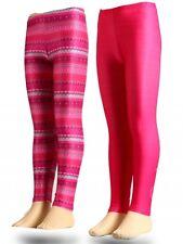 Nuevo Niños Niñas Pantalones deportivos Largo polainas Mattel Barbie FUCSIA 92