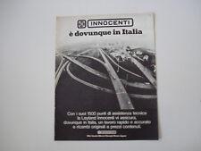 advertising Pubblicità 1973 SERVIZIO LEYLAND INNOCENTI