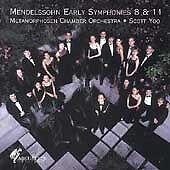 FREE US SHIP. on ANY 3+ CDs! NEW CD : Mendelssohn: Sinfonias 8 & 11
