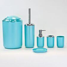 Bathroom Luxury Accessory Set 6pc in 3 colours,