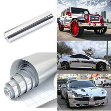 Pellicola CROMATA adesivo cromato argento chrome car wrapping auto moto cromatur