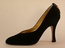 CUSANO Damen Schuhe 36 40 Velour Schwarz Pumps NEU