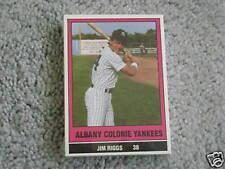 1986 ALBANY-COLONIE TEAM SET YANKEES ROBERTO KELLY