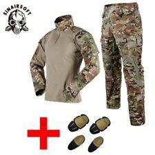 Tactical Mens Airsoft Gen3 G3 Combat Suit Shirt Pants Special Forces BDU Uniform