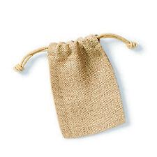Westford Mill Jute Rope Close Plain Stuff Bag (PC2627)