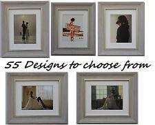 Jack vettriano encadrée art prints 33cm x 28cm 55 designs à choisir gris cadre