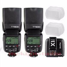 Godox TT600 2.4G Wireless Speedlite Flash For Canon + X1T-C Transmitter Kit New
