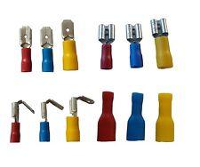 Flachstecker Flachsteckhülse Flachsteckverteiler, rot, blau, gelb - bitte wählen