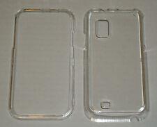 Samsung Fascinate i500 Crystal Hard Plastic Case CLEAR