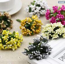 Artificial Flower Bouquet Stamen Party Wedding Car Millinery Home Decor Supplies