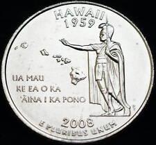 2008 P Hawaii State ~ Washington Statehood Quarter from U.S. Mint Roll