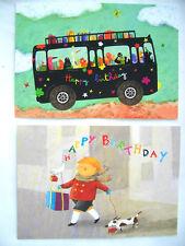 *ANNE-ISABELLE LE TOUZÉ*Postkarte*Kinder*Geburtstag**10x15cm