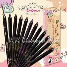 SOLONE 30Sec Speedy Dry Gel Like Smoody Pencil Eyeshadow Eyeliner WATERPROOF NEW
